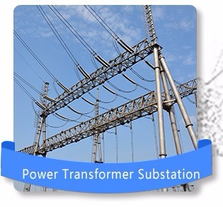 Power Transmission Line Electric Steel Pole