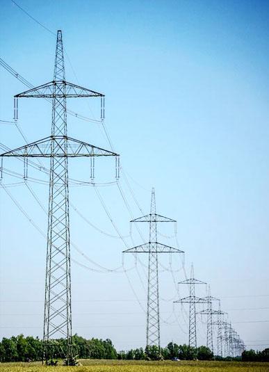 Sudut Tower Steel untuk Power Transmission