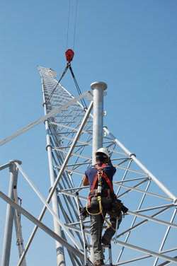 A Self Supporting Communications Tower