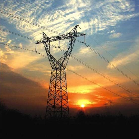 Power transmission lines - transmission line structures