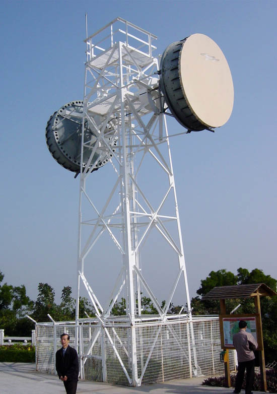microwave telecommunication towers