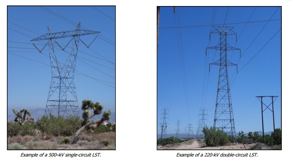 500–kV single-circuit tower