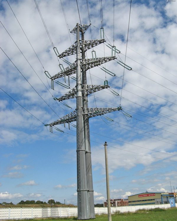 Galvanized-Electric-Power-Steel-Pole