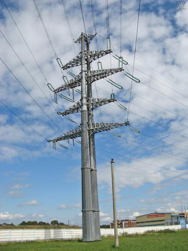Galvanized-Electric-Power-Steel-Pole