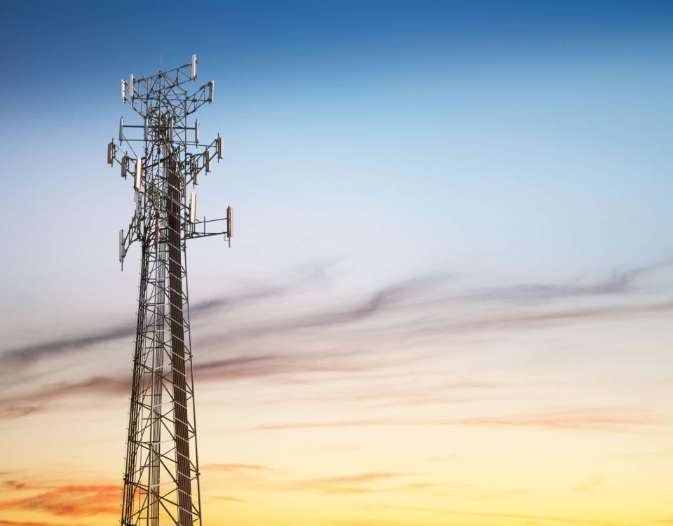 Structural Steel Mobile Communication Tower