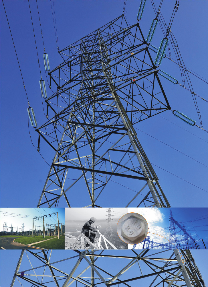 transmission line steel tower steel structure power substation Intelligent high voltage electric power waves filtering resistors