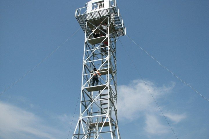 Galvanized steel Fire Lookouts tower