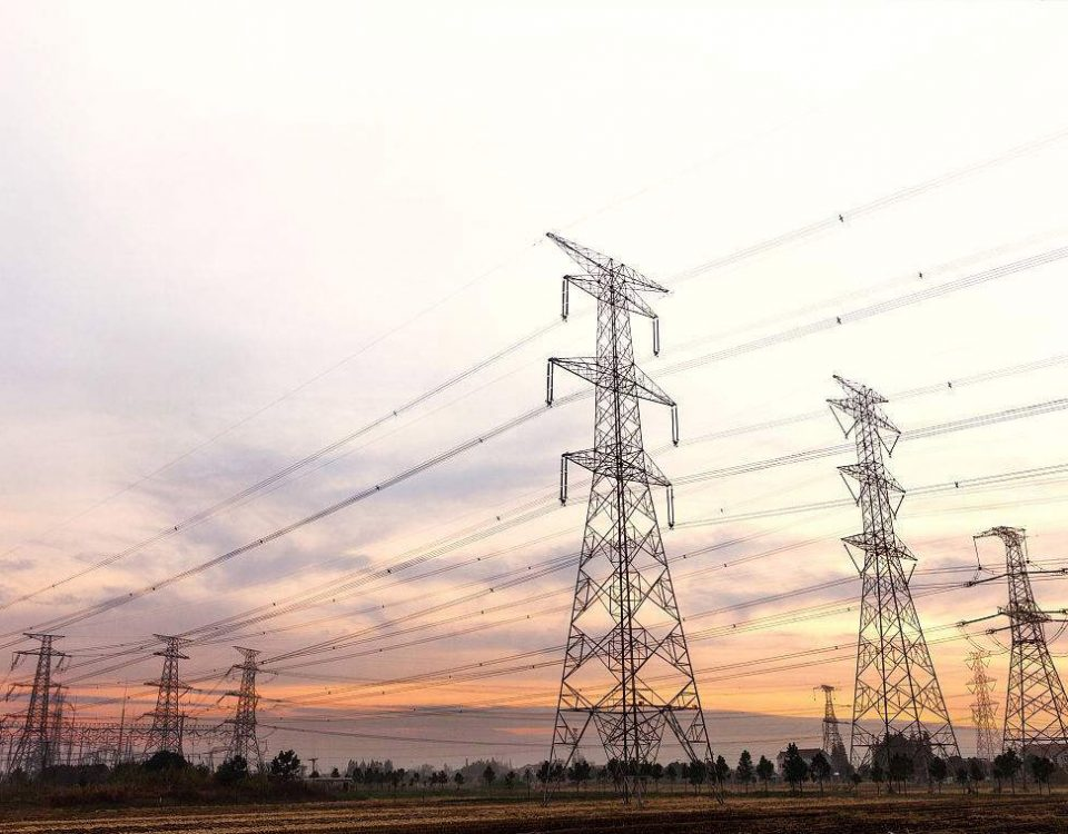 Double Circuit Angle Steel Power Lattice Transmission Towers
