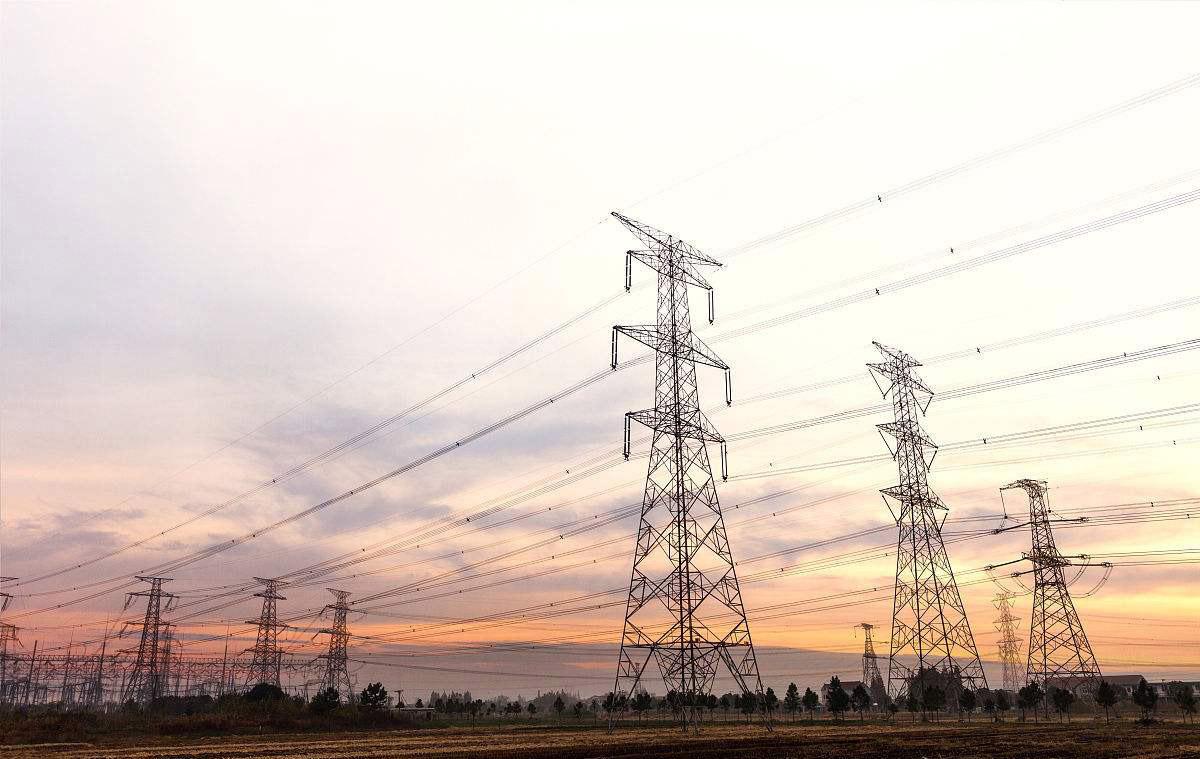 Double Circuit Transmission Line Tower 400kv 132kv 33kv