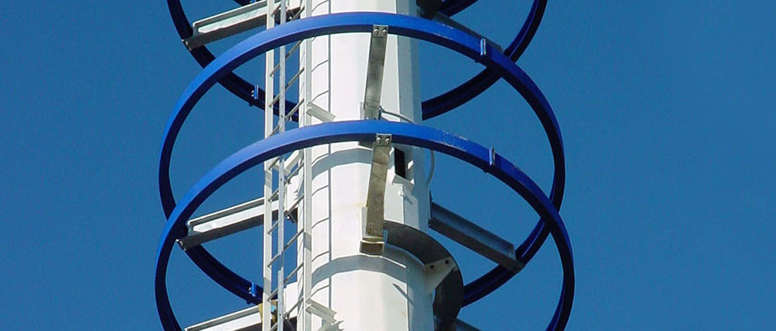 Steel Monopole Telecommunication Tower