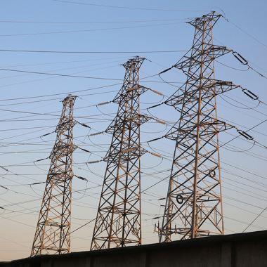 Steel Lattice Electric Tower