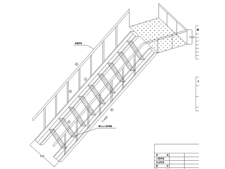 15 meters observation tower steel structure chart _5