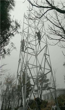 Lattice угловой стальной платформы Горного леса вышка перспектива пожар наблюдение для продажи