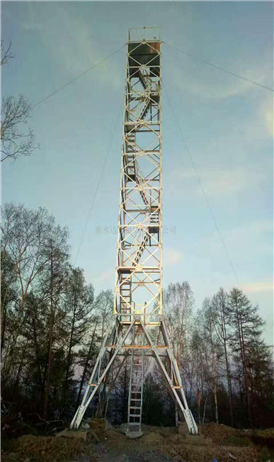 Galvanized Cellular Forest Fire Watch Tower