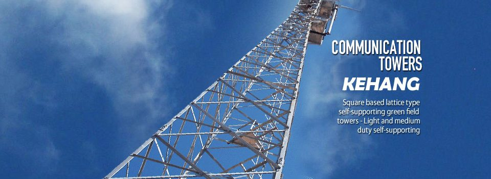 Self Supporting Steel Lattice Telecom Radar Tower