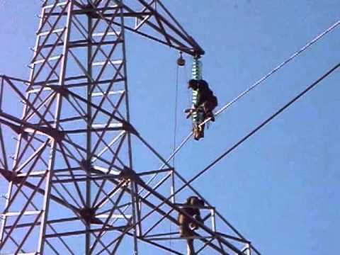 Hight Voltage Steel Tower Construction Communication