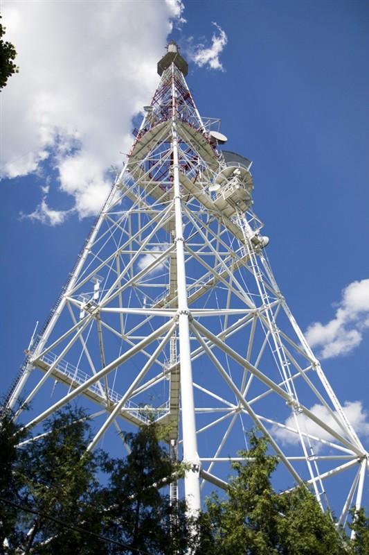 Design Of Monopole Tower Communication Tower Lattice