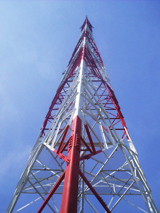 four leg self-supporting towers(SST) - Communication tower